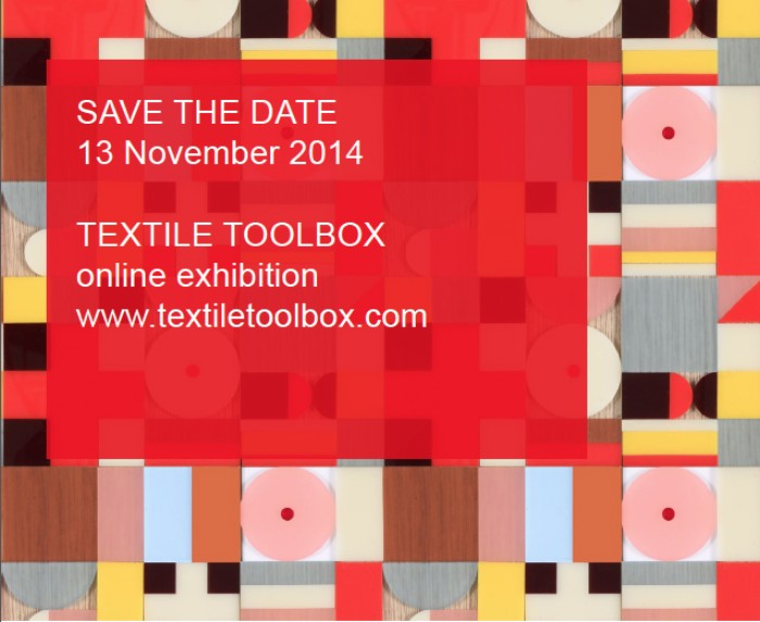 prof rebecca earley save the date textile toolbox online